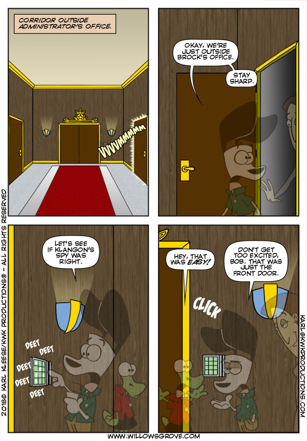 WG 2437 Door Number One